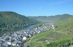 Ediger-Eller,Mosel River,Mosel Valley,Germany Stock Photos