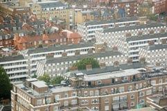 Edilizia popolare da sopra, Westminster Immagine Stock Libera da Diritti