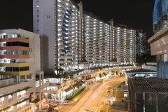Edilizia popolare del distretto di Singapore Chinatown Fotografia Stock