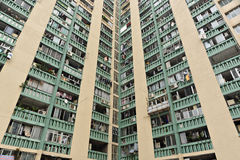 Edilizia popolare di Hong Kong Fotografia Stock
