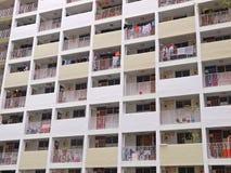 Edilizia popolare di Singapore Immagine Stock