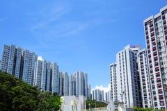 Edilizia popolare in Hong Kong Fotografia Stock Libera da Diritti