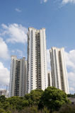 Edilizia privata di Singapore Fotografia Stock