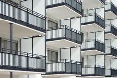 Edilizia residenziale Fotografia Stock