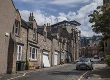 Edimbourg, Ecosse - l'architecture - une rue photos stock