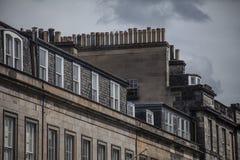 Edimbourg, Ecosse, le BRITANNIQUE - bâtiments et cieux images libres de droits