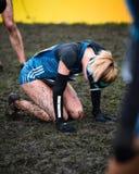 EDIMBOURG, ECOSSE, R-U, le 10 janvier 2015 - exhau d'athlètes d'élite Photo libre de droits