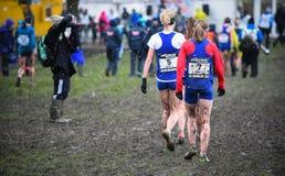 EDIMBOURG, ECOSSE, R-U, le 10 janvier 2015 - exhau d'athlètes d'élite Image stock