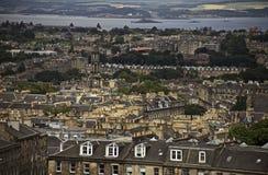Edimbourg, Ecosse - une vue de colline de Calton photographie stock libre de droits