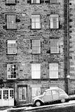 Edimbourg en hiver Images libres de droits
