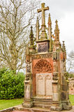 Edimbourg, R-U - 6 avril 2015 - monument de chapelle de Rosslyn photo libre de droits