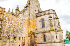Edimbourg, R-U - 6 avril 2015 - vue de chapelle de Rosslyn photos stock