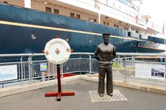 Edimbourg, yacht royal Britannia photo libre de droits
