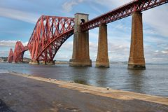Edimburg, cuarto puente de Escocia fotos de archivo libres de regalías
