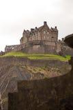 Edimburgh城堡细节  免版税库存照片