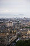 Edimburgh. Panorama view of scottish capital edimburgh Royalty Free Stock Photography