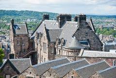 Edimburgh Schloss Stockbild
