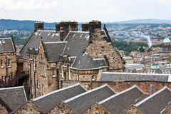 Edimburgh view Royalty Free Stock Image
