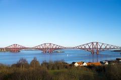 Edimburgo adelante tiende un puente sobre Imágenes de archivo libres de regalías