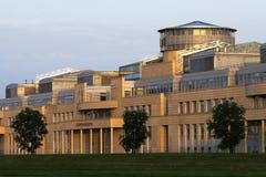 Edimburgo de construção executivo escocês Foto de Stock Royalty Free