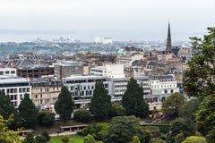 Edimburgo del Nord in Scozia, Regno Unito Fotografie Stock Libere da Diritti