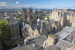 Edimburgo en Escocia, Reino Unido Imágenes de archivo libres de regalías