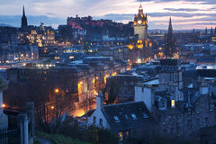 Edimburgo, Escocia Imagen de archivo libre de regalías