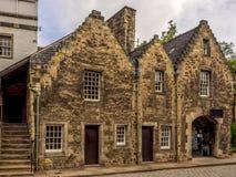 Edimburgo histórica alrededor de la abadía Foto de archivo