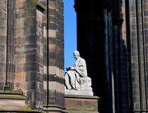 Edimburgo - la Scozia - Sir Water Scott Monument Immagine Stock