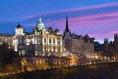 Edimburgo, Regno Unito Fotografia Stock Libera da Diritti