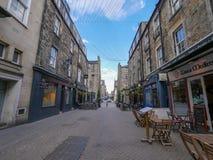 Edimburgo, Reino Unido, calles de la ciudad en el centro de la ciudad fotografía de archivo