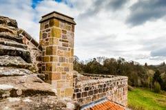 Edimburgo, Reino Unido - 6 de abril de 2015 - opinião da capela de Rosslyn Fotos de Stock Royalty Free