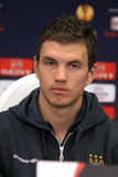 Edin Dzeko of Manchester City Royalty Free Stock Photos