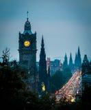 Edinbuegh Scozia Regno Unito Fotografia Stock