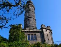 Edinburg - Шотландия - памятники Стоковое фото RF