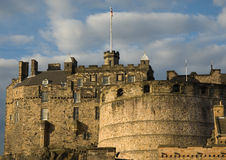 Edinburg Castle 2. View on Edinburgh Castle in Edinburgh, Scotland stock photo
