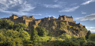 Edinburg Castle Stock Photography