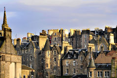 Edinburg, houses 2 Stock Photography