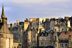 Edinburg, houses 2. Houses and Roofs edinburg, scotland Stock Photography