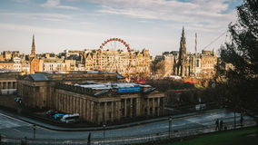 Edinburg i morgonen Royaltyfria Foton