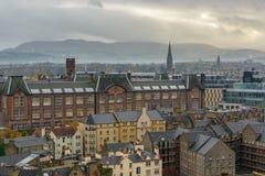 Edinburg i Skottland Arkivfoton