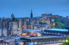 Edinburg Skottland fotografering för bildbyråer