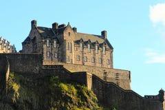 Edinburg slotten royaltyfria bilder
