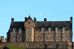 Edinburg slotten arkivfoto
