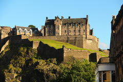Edinburg slotten arkivbilder