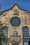 Edinburg slotten royaltyfria foton