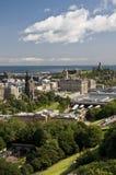 Edinburg un giorno pieno di sole Fotografia Stock Libera da Diritti