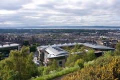 Edinburg un jour ensoleillé Images stock