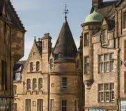 Edinburgarkitektur royaltyfri bild