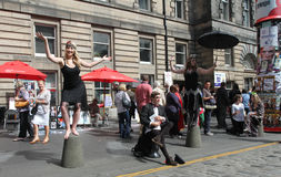 Edinburgfransfestival 2013 Arkivbilder